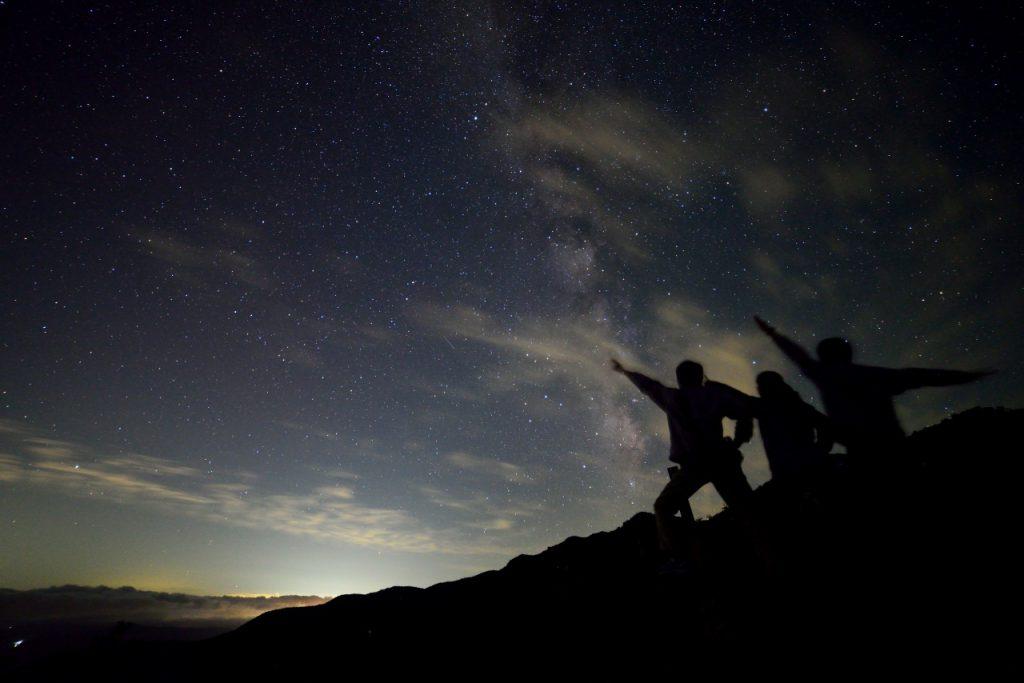 [終了] アルプス平でペルセウス座流星群を眺めよう (2018/8/11,12)