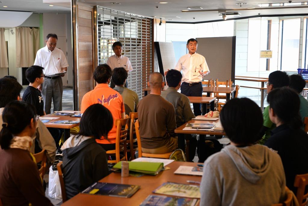植物園の魅力を長野県内の高校の先生に伝えさせていただきました