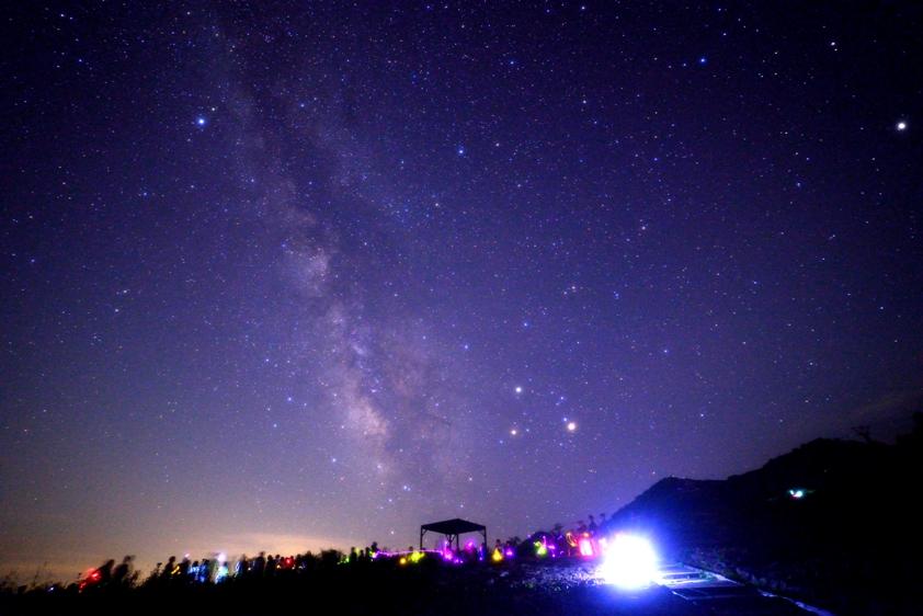 [終了]  白馬五竜ナイトゴンドラ特別イベント「☆アルプス平で一晩中、星空を眺めよう」
