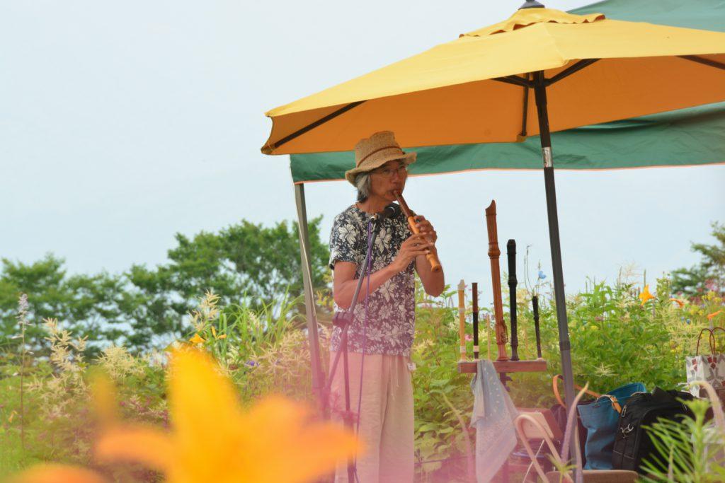 [終了] いがりまさし お花畑ストリートライブ in 白馬五竜高山植物園 2020」