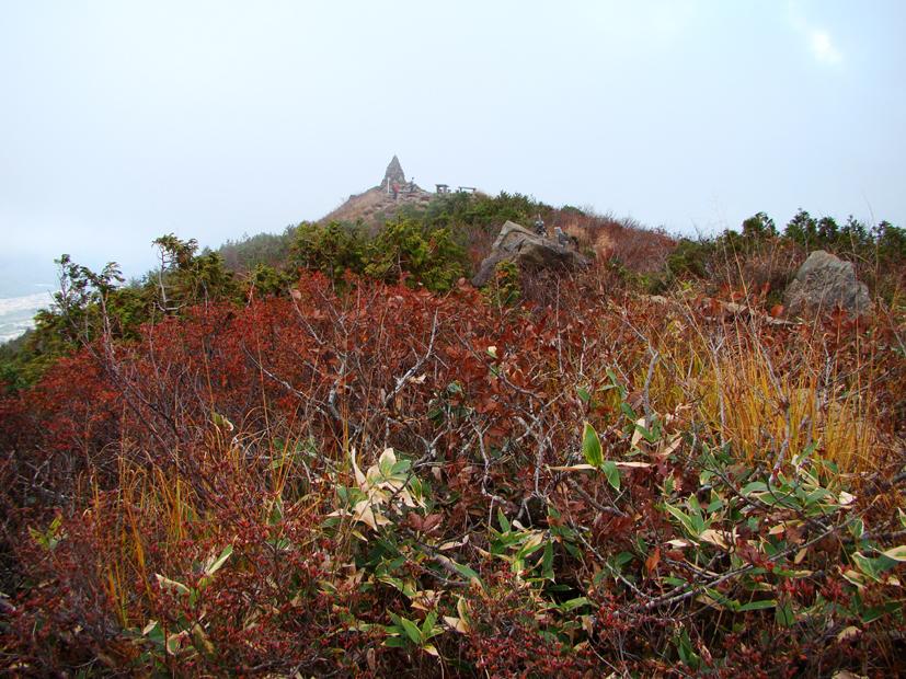 【紅葉情報】地蔵のケルン周辺