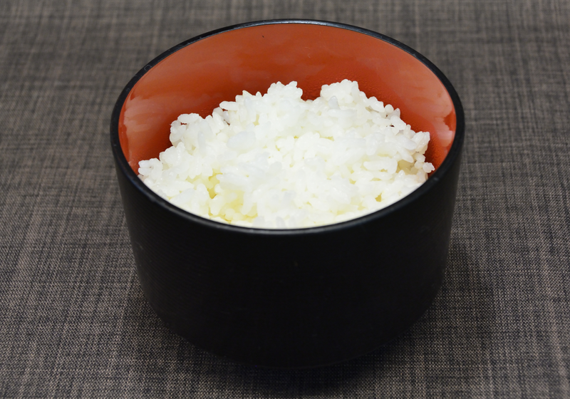 Each dish can be ordered with a rice included set.