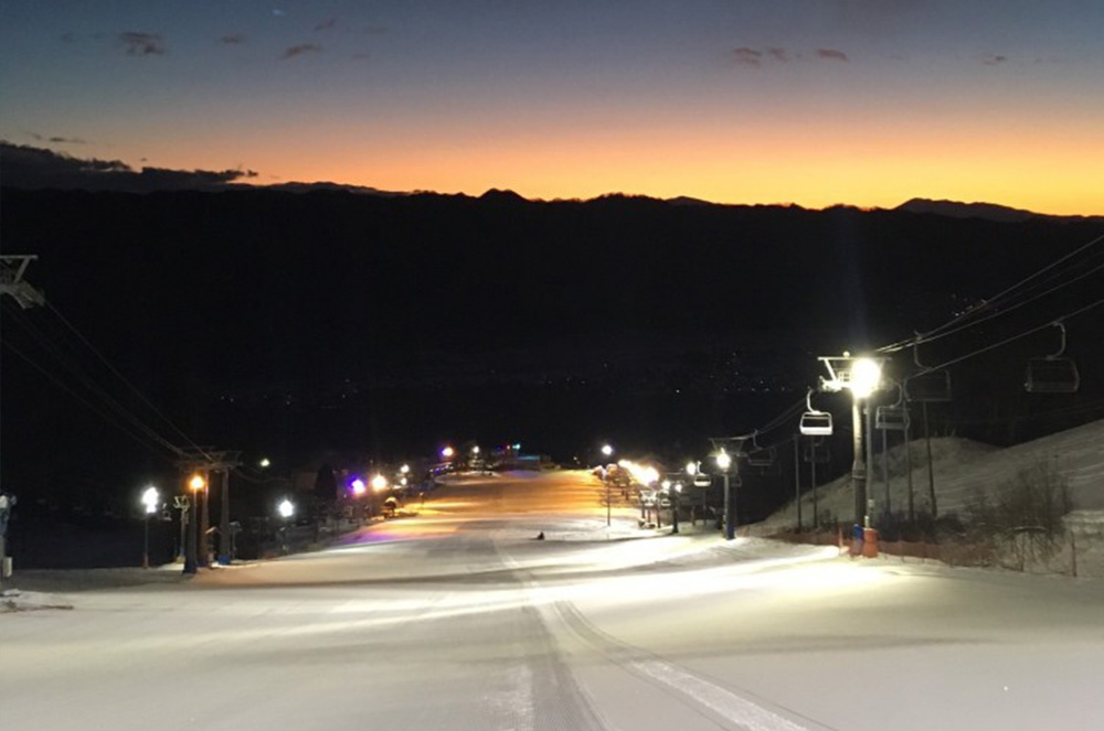 Sunrise Skiing