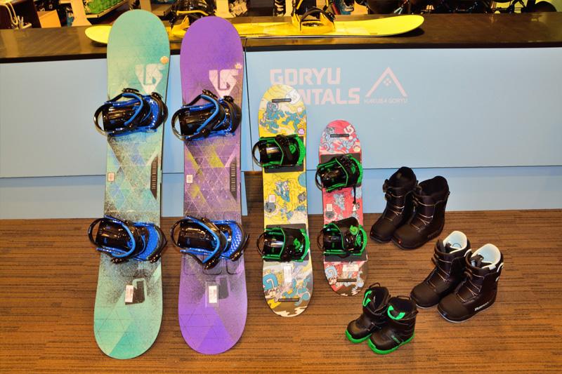 白馬 五龍 / 47滑雪場裝備租賃方式 GORYU RENTALS